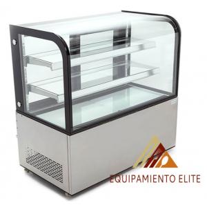 ✅ Migsa NR-ARC-370Y Vitrina Refrigerada de Piso con Cristal Curvo 🥇