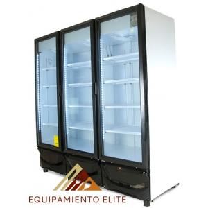 ✅ Criotec CFX-64 Refrigerador 🥇 3 Puertas de Vidrio