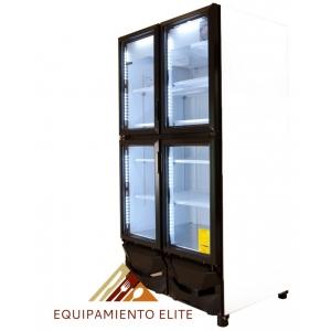 ✅ Criotec CFX-37-4P Refrigerador 🥇 4 Puertas de Vidrio