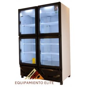 ✅ Criotec CFX-42-4P Refrigerador 🥇 4 Puertas de Vidrio