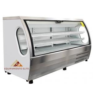 ✅ Criotec VCC-200 Vitrina Refrigerada 🥇 Vidrio Curvo