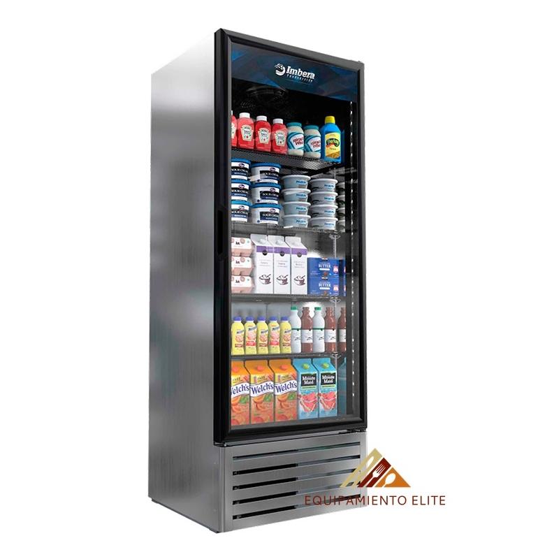 ✅ Imbera G319 Refrigerador 🥇 1 Puerta de Vidrio