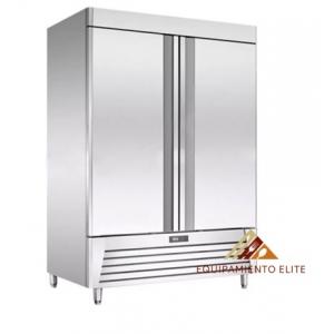 ✅ Migsa BE- UR-54F-2 Congelador de Acero Inoxidable 🥇 2 Puertas Solidas