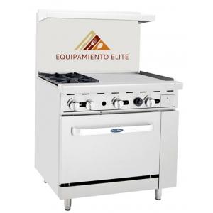 ✅ CookRite ATO-2B24G Estufa con 2 Quemadores Plancha y Horno 🥇
