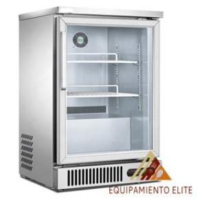 ✅ Migsa BE-SG-160 Refrigerador Back Bar de 1 Puerta de Cristal 🥇