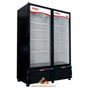 ✅ Refrigerador Torrey TVC26 🥇 2 Puertas de Vidrio