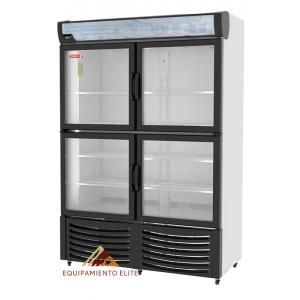 ✅ Refrigerador Torrey R-36-4 🥇 4 Puertas de Vidrio