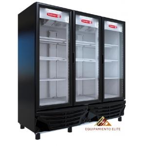 ✅ Refrigerador Torrey G372 🥇 3 Puertas de Vidrio