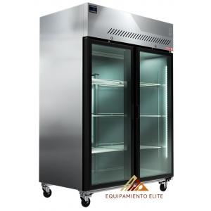 ✅ Congelador Torrey FG-1300 🥇 2 Puertas de vidrio