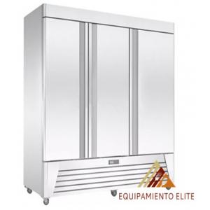 ✅ Migsa UR-78F-3 Congelador de Acero Inoxidable 🥇 3 Puertas Solidas