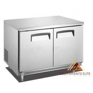✅ Migsa BE-UC-48C-2 Mesa Refrigerada de 2 Puertas 🥇