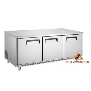 ✅ Migsa BE-UC-72C-3 Mesa Refrigerada de 3 Puertas 🥇