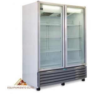 ✅ Nieto by Metalfrio RB630 Refrigerador 🥇 2 Puertas de Vidrio