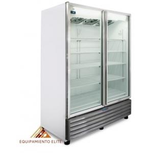 ✅ Nieto by Metalfrio RB-800 Refrigerador 🥇 2 Puertas de Vidrio