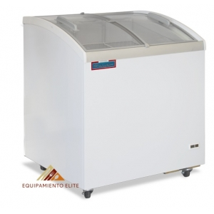 ✅ Nieto CHC-200 Congelador 🥇 Cristal Curvo