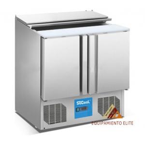 ✅ Migsa BE-S900 Mesa Refrigerada Para Ensaladas 🥇