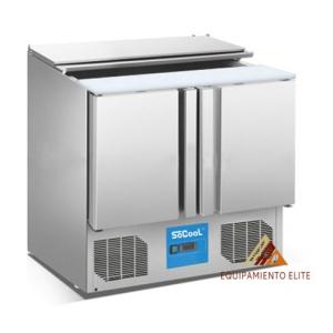 ✅  Migsa BE-S902 Mesa Refrigerada para Ensaladas 🥇