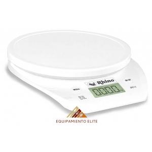 ✅ Rhino BACI-3 báscula Digital Multiusos para Cocina 🥇 3 kg-0.5 g