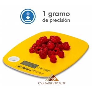 ✅ Rhino BAREC-5 Báscula Electrónica Rectangular de cocina 🥇 5 kg -1 gr.