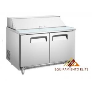 ✅ Migsa BE-SCL-2 Mesa Fría para Ensaladas 🥇 Tipo Americano