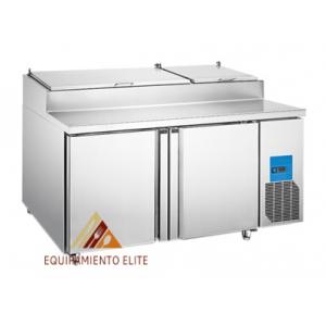 ✅ Migsa BE-PICL-2 Mesa Refrigerada para Pizzas 🥇