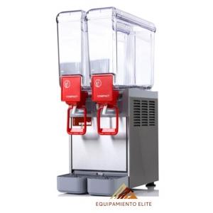 ✅ Ugolini D20-2 Enfriador y Despachador de Bebidas de 2 Tazones 🥇 20 Litros C/U