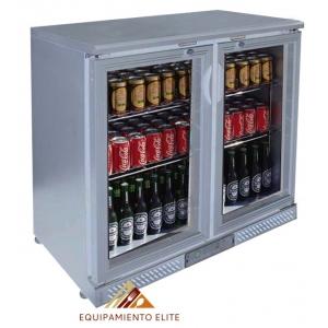 ✅ Lux BBC2-S Refrigerador Back Bar 🥇 2 Puertas