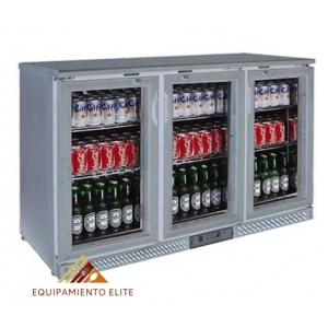 ✅ Lux BBC3-S Refrigerador Back Bar 🥇 3 Puertas