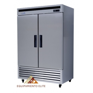 ✅ Parker RVA-49-B Refrigerador 2 Puertas 🥇 Acero Inoxidable