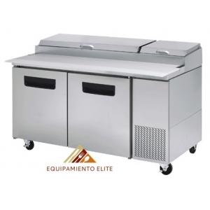 ✅ Parker MPP-67-B Mesa Refrigerada para Pizzas 🥇