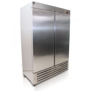Criotec FSL-42 Congelador vertical de Acero Inoxidable 2 Puertas Solidas