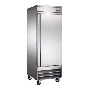 Icehaus RV-1PS-SS-01 Refrigerador de Acero Inoxidable 1 Puerta Solida de 23 Pies