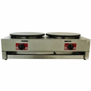 Girochef GCH-RBJ-2 Crepera Doble a Gas