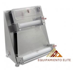 ✅ Migsa NL-APD-400 Laminadora de Masas y Pizzas de 40 cm de Diámetro 🥇