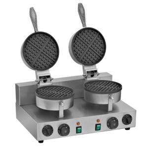 ✅ Migsa FB-UWB2 Wafflera Doble Tipo Americana 🥇