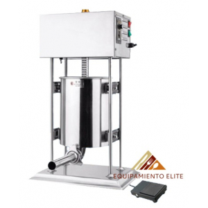 ✅ Migsa NL-ESV-15 Embutidora Eléctrica Vertical de 15 Lts. 🥇