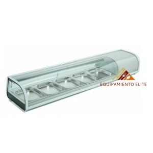 ✅ Migsa NR-RTS132L Vitrina Refrigerada para Sushi 🥇