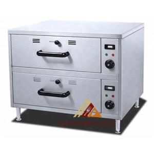 ✅ Migsa HW-82 Calentador de Alimentos de 2 cajones Eléctrico 🥇
