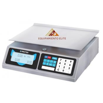 ✅ Protek BPK-40 Bascula Comercial 🥇 40 kg.