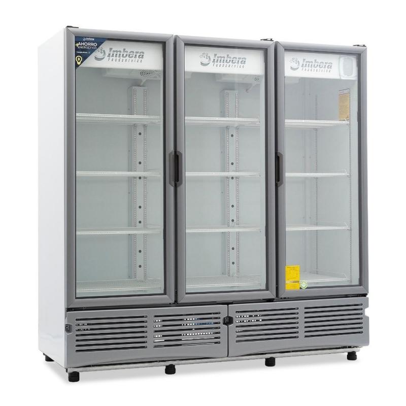 ✅ Imbera G3-72-3P Refrigerador 🥇 3 Puertas de Vidrio