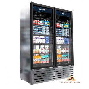✅ Imbera VRD43 Refrigerador 🥇 2 Puertas De Vidrio