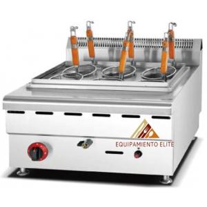 ✅ Migsa BB-HGL-610 Cocedor de Pastas Modular a Gas 🥇