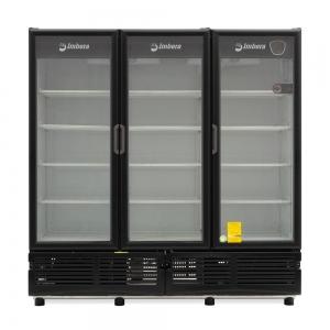 ✅ Imbera CCV-1350 Refrigerador Cervecero 🥇 3 Puertas de Vidrio