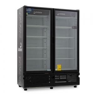 ✅ Imbera CCV-900 Refrigerador Cervecero 🥇 2 Puertas de Vidrio