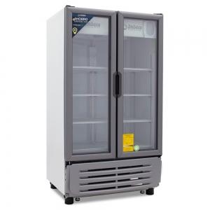 ✅ Imbera VR-19 Refrigerador 🥇 2 Puertas de Vidrio